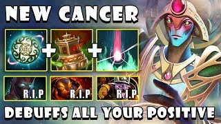 [Oracle] New Cancer Debuffs All Your Positive | 22Kills GODLIKE FullGame Dota 2 7.21b