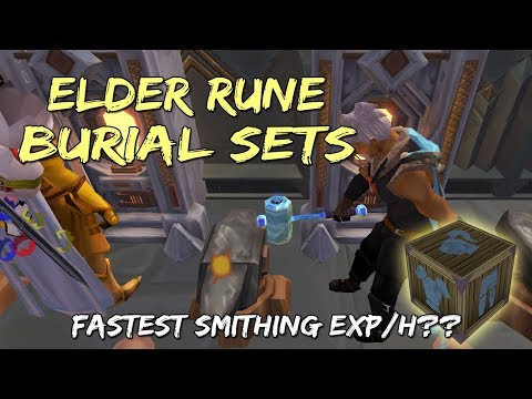 Burial Set 2-Tick Smithing Guide | Mining & Smithing Rework [Runescape 3]