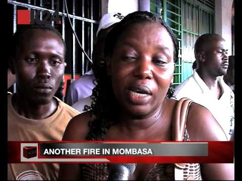 Brothel goes up in flames in Mombasa
