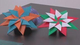 Cómo Hacer una Estrella Carla en Origami - Hogar Tv  por Juan Gonzalo Angel
