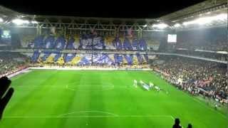 Fenerbahçe-Trabzonspor Maçı [HD]...Türk Telekom Kareografi (Aykut Kocaman)
