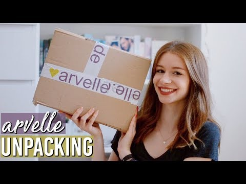 arvelle UNPACKING // book haul
