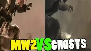 Call of Duty: Ghosts USING SAME MW2 ENDING CUTSCENE - MW2 Ending Copy & Paste!