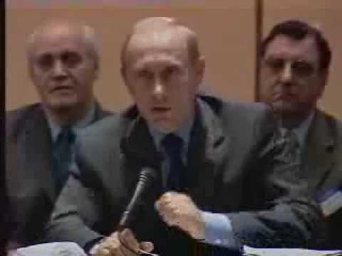 """Путин: """"Замучаетесь пыль глотать!"""""""