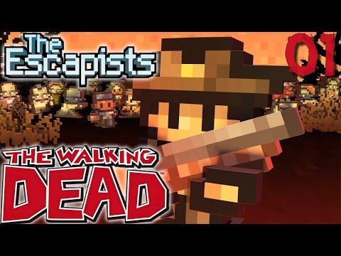 BIENVENUE EN ENFER ! | The Escapists The Walking Dead ! #Ep1