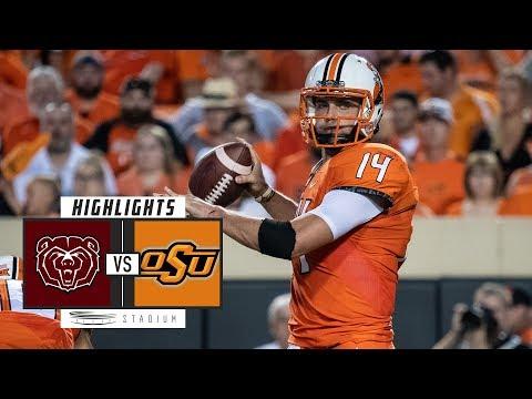 Missouri State vs Oklahoma State Football Highlights (2018) | Stadium