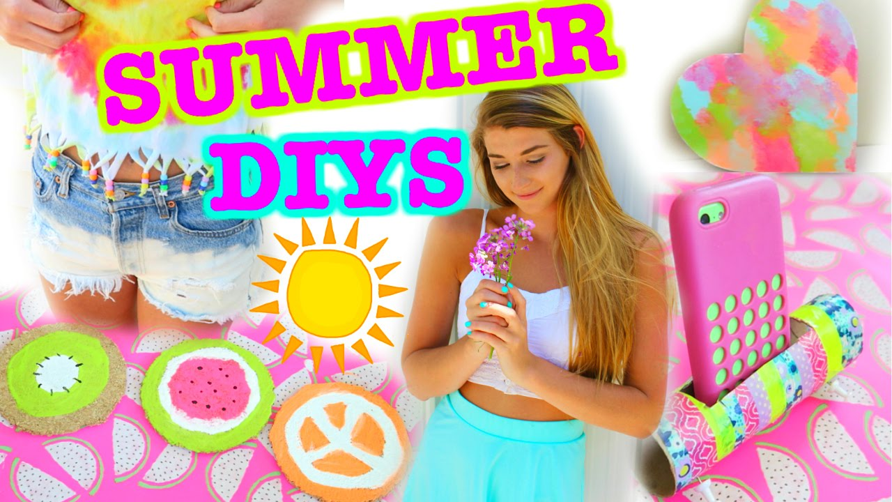 easy summer diys you need to try youtube. Black Bedroom Furniture Sets. Home Design Ideas