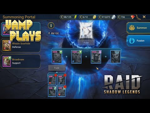 RAID: Shadow Legends | Fusing Relickeeper | Vamp Plays