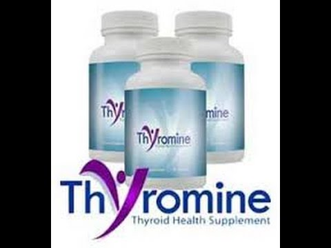 Thyromine Is An All Natural Thyroid Supplement That Works With
