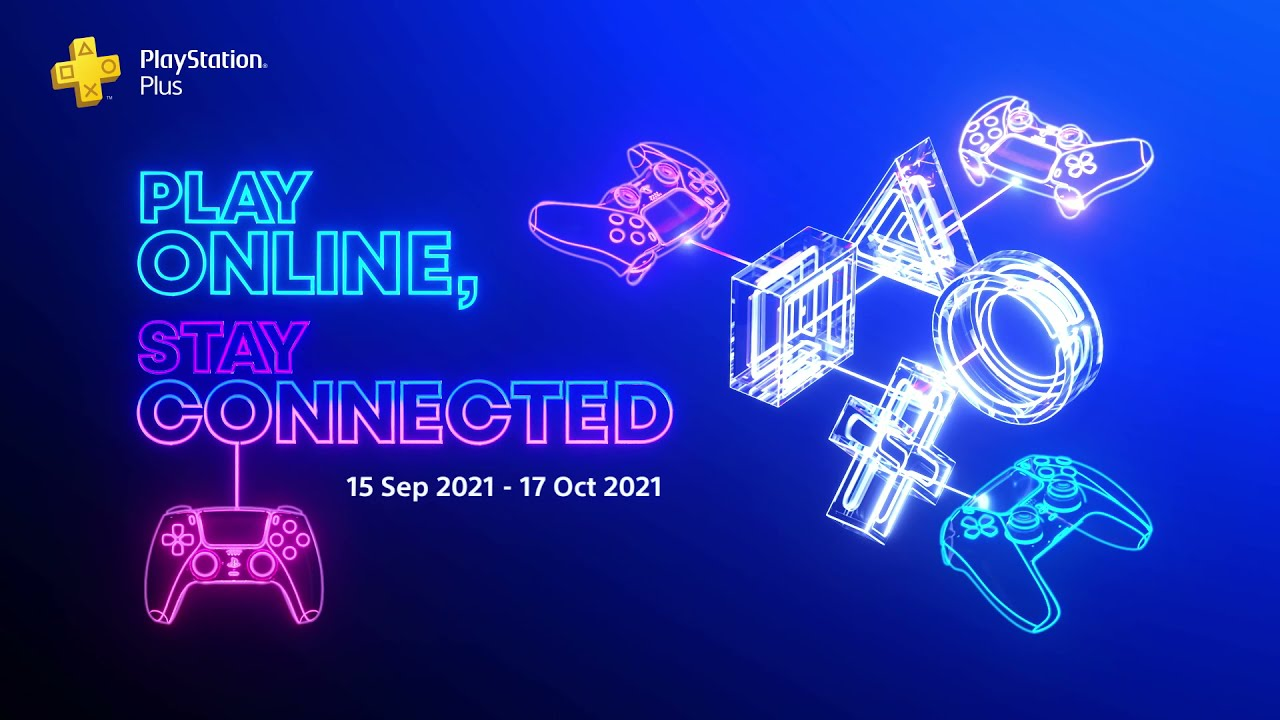 Play Online Stay Connected - Oct Free Games for PS Plus