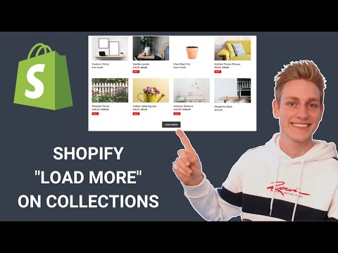 Shopify How To Load More Products On Collection Pages