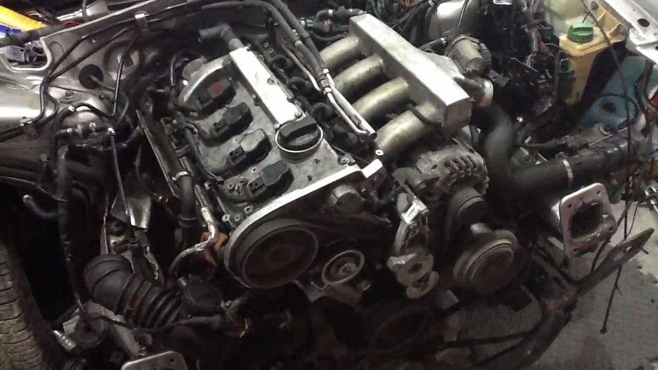 My Audi A4 Quatro 1 8t Engine Awm Rebuild 5 Speed