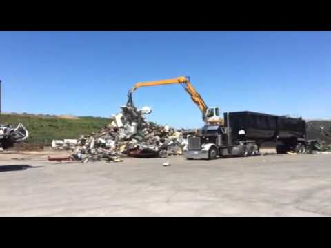 Daily Operations at New Metal Recycling Facility