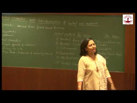 Dr  Meena Patankar - Herbal Cosmetics & Standardization of herbal Raw Material