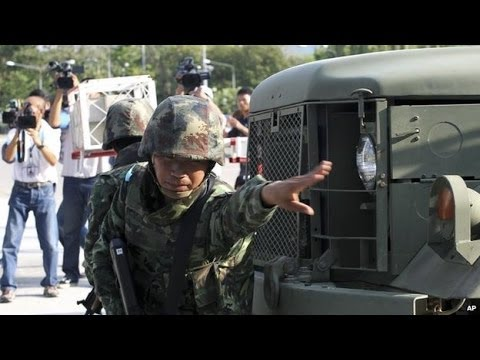 Thailand military seizes power in coup-22th may 2014