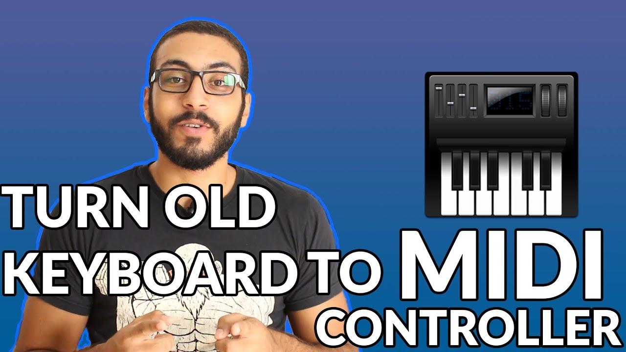Turn Old Keyboard/Digital piano into a MIDI Keyboard/Controller