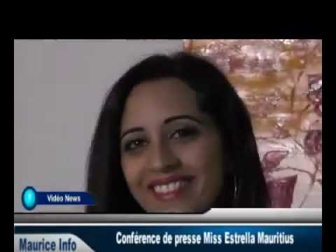 Conférence de presse Miss Estrella Mauritius - Part 1