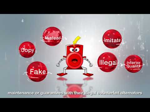 STAMFORD anti-counterfeit - how to identify your Genuine alternator