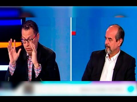 Phillip Butters en acalorado debate con Mauricio Mulder