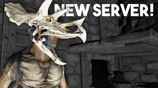 ARK Survival Evolved Gameplay :: New Server & Mini Prank