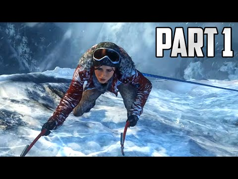 """Rise of the Tomb Raider Walkthrough - Part 1 """"LARA IS BACK!"""" (Let's Play, Playthrough)"""