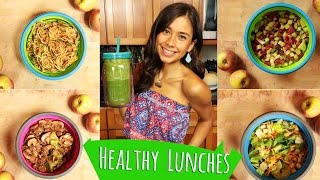 HEALTHY LUNCH IDEAS FOR SCHOOL & WORK!