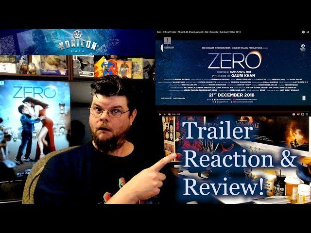 🎥 Zero - Hindi Trailer Reaction Review!