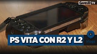 Carcasa PS Vita   PlayStation Vita con botones R2+L2   Vlog