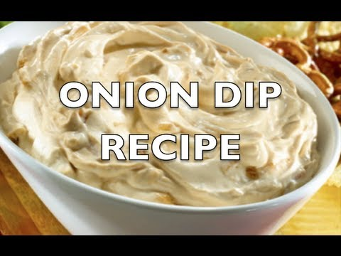 HOMEMADE ONION DIP RECIPE - GregsKitchen