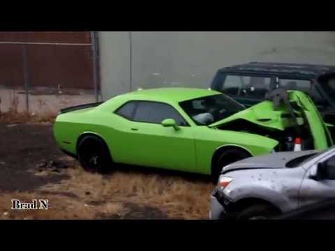 Wrecked Challenger Hellcat Aftermath Youtube