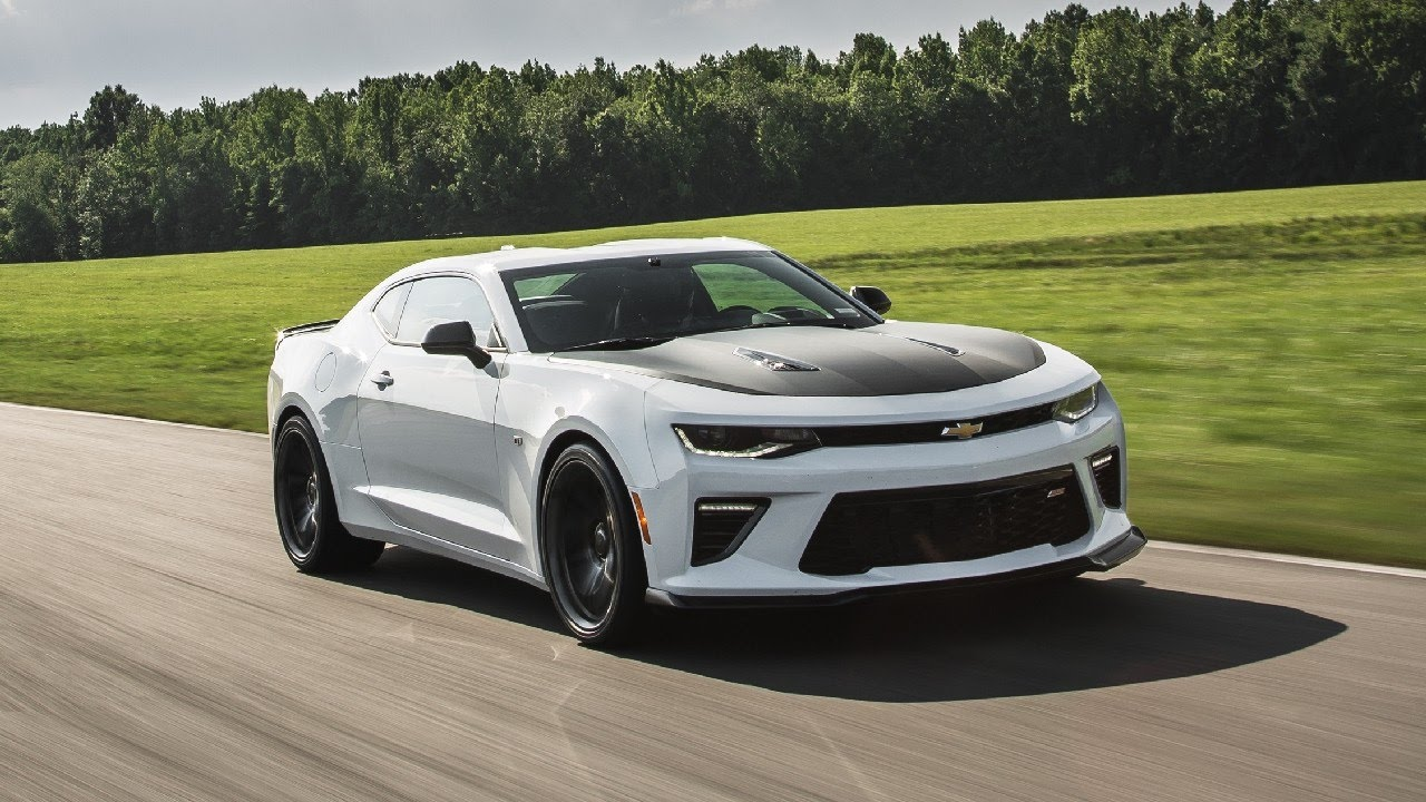 2017 Chevrolet Camaro Ss 1le Manual Rank In Muscle Cars