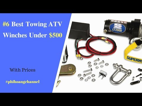 Top 6 Best Towing ATV Winches Under $500 – Best Car Accessories 2019