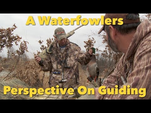A Waterfowl Guides' Love Of The Hunt.  Good And Bad.
