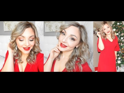 ⏩GRWM : Jour de Noël (Maquillage, Tenue et Coiffure)🎄