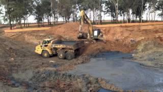 Desilting an Old Dam