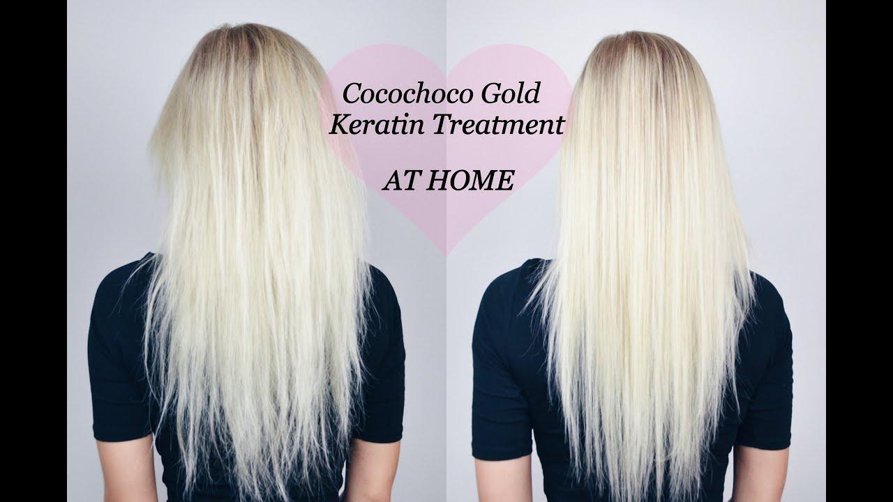 Cocochoco Gold keratin treatment - YouTube