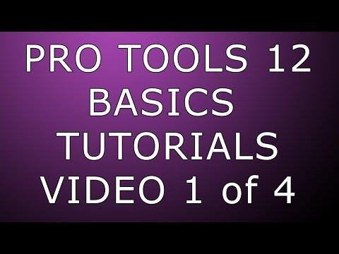 Pro Tools 12 Basics Setup & Recording (1080p quality)