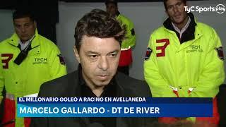 Conferencia de Marcelo Gallardo luego de la goleada de River ante Racing