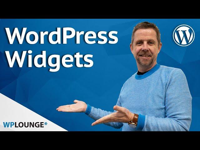 Wat zijn Widgets in WordPress?