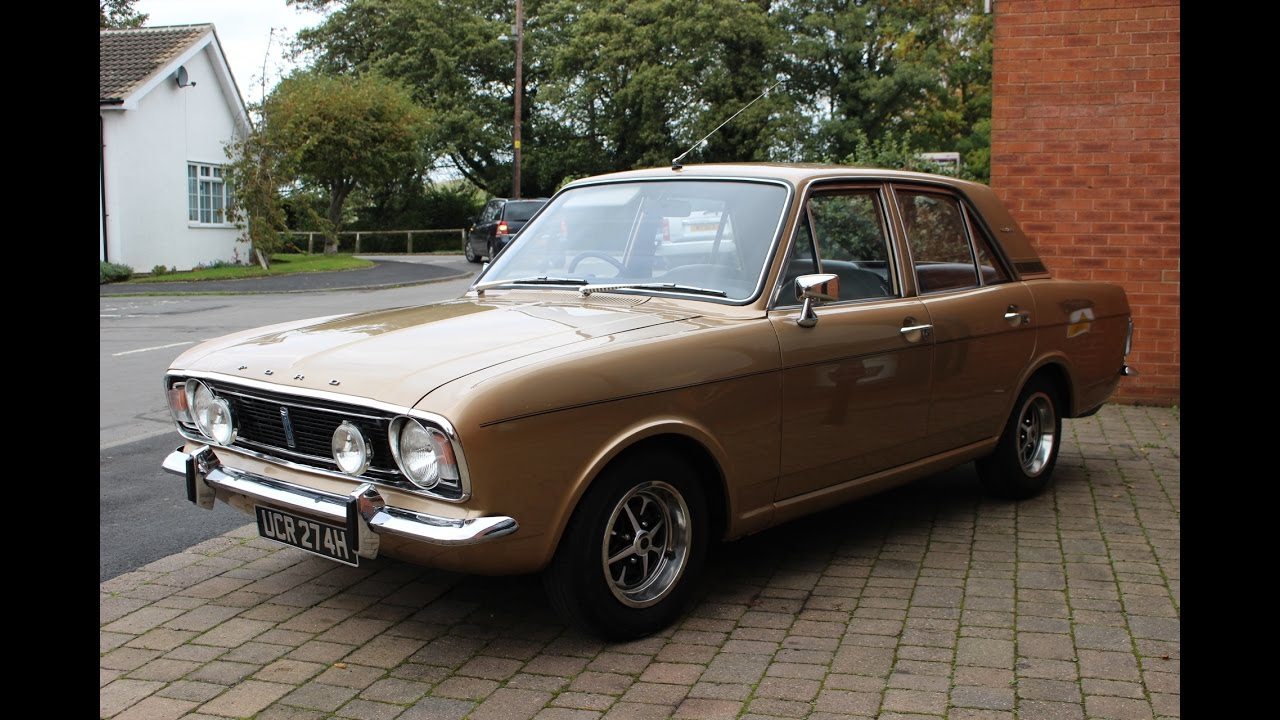 Stunning 1970 ford cortina 1600e preview video