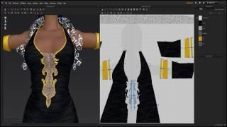 Marvelous Designer Steam - My first Dress