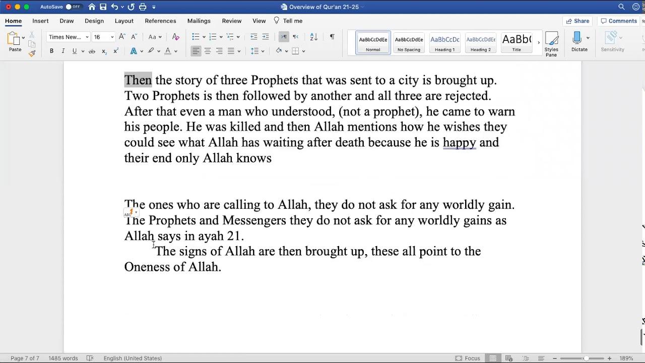 Sh. Zubair || Quranic Overview (Juz 23)