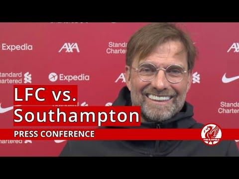 Liverpool vs. Southampton   Jurgen Klopp Press Conference