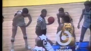 1975 IHSAA State Semifinal #1: Marion 73, Lebanon 65