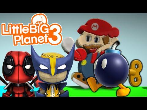 bombs away mario bomb survival little big planet 3 multiplayer