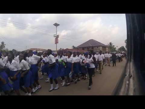 Tasso Island to Bo City, Sierra Leone. Day 06 26.03.2017
