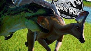 nuevos dinosaurios de dlc y el modo captura jurassic world evolution