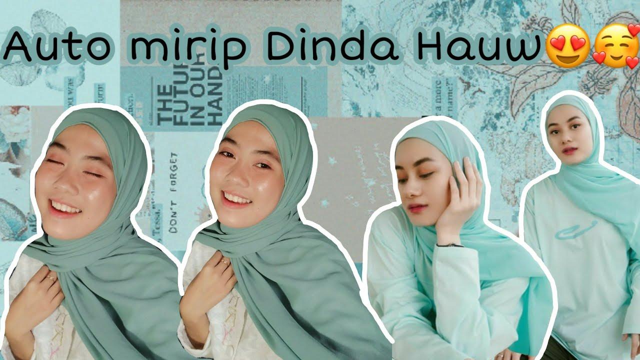 Tutorial Hijab Pashmina Kekinian 2020 Auto Mirip Dinda Hauw Zizih Hamka Youtube