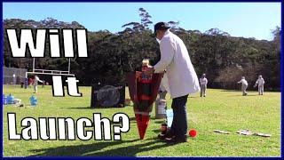 Giant Coca-Cola Liquid Nitrogen Bottle Rocket Launch || Make Science Fun