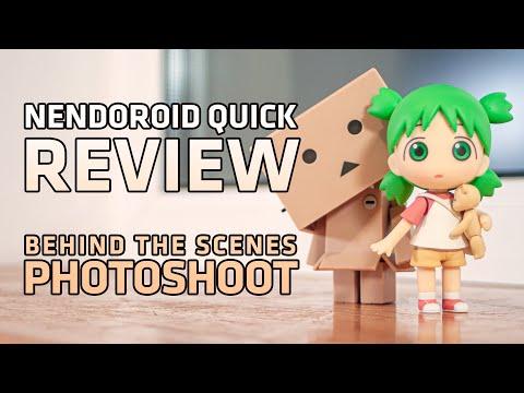 Nendoroid Yotsuba Koiwai And Danbo Quick Review + Photoshoot Behind The Scenes